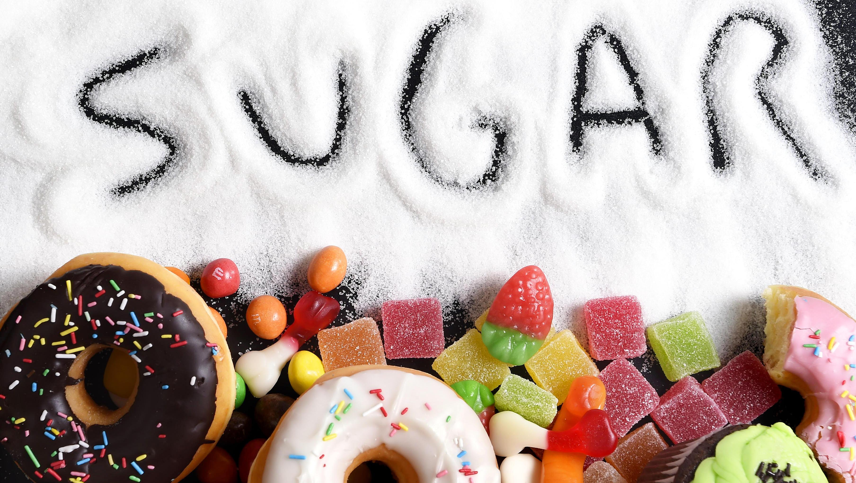 sugar crop - Added sugars ingredient names